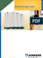 Acumuladores Directos de Agua a Gas