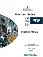 Unimotor Series Installation Manual Iss2