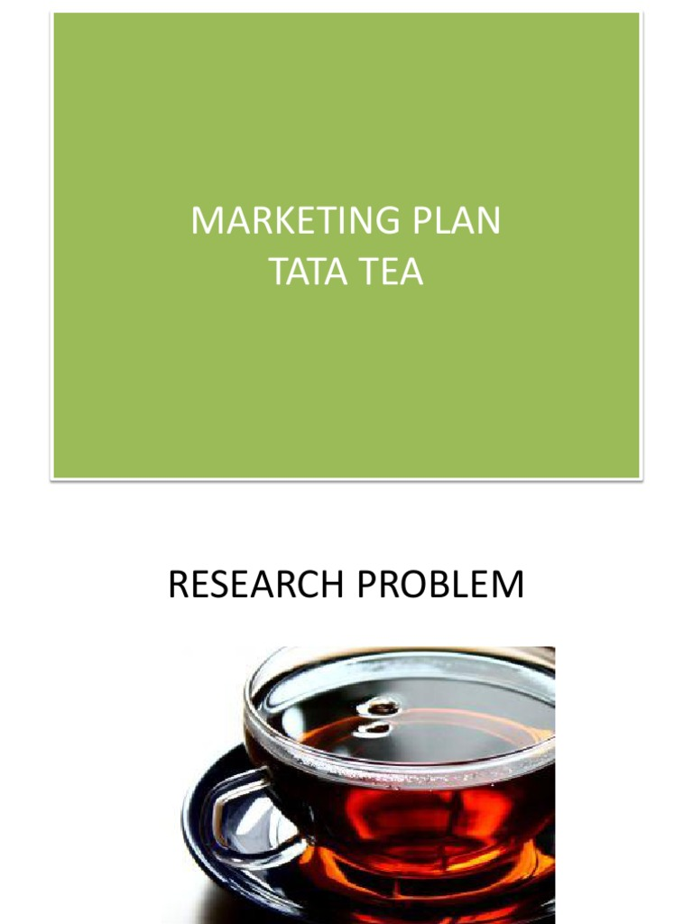 marketing report on tata tea Fundamental analysis of tata global beverages limited-equity research report based on future prospects in 1983 tata tea was born after james finlay sold his.