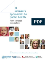 Social Determinants Approaches to PH_WHO