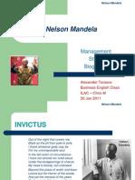Presentation Nelson Mandela