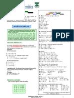 01. Regras de Sinais - Frações REVISÃO- Matemática 9°ano- Prof