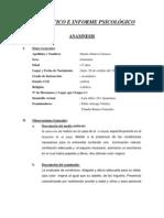 Modelo de Anamnesis y Examen Mental1
