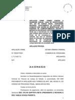 absolvição Rio Grande do Sul