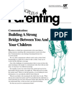 Parenting) Communication - Building a Strong Bridge Between You and Your Children