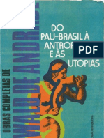 50569771 Oswald de Andrade OC 6 Do Pau Brasil a Antropofagia e as Utopias Ocr