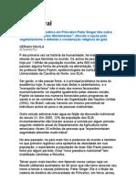 Dieta Moral - Sérgio Dávila - Como Nos Aliment Amos, Peter Singer - Nutrição