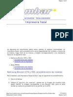 Manual de Reseteo Impresora Bixolon y Aclas