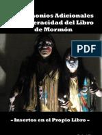 TESTIMONIOS ADICIONALES DEL LIBRO DE MORMÓN INSERTOS EN EL PROPIO TEXTO - Rafael Diogo