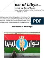 The Prince of Libya Flyer for Stage Production