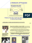 Helping Urban Youth Move from Birth to Work - A Network Building Strategy