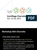 EcoVillage Charrette - Fall 2011