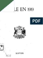 Chile en 1919. (1919)