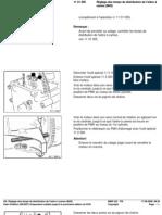 RA Réglage Des Temps de Distribution de l'Arbre à Cames (M43)