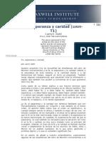 Fe, Esperanza y Caridad - Maxwell Institute Foreign Language Documents