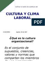 Cultura y Clima Laboral 2-2010