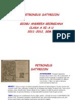 PETRONIUS Satyricon