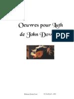 Oeuvres de Dowland