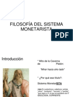 Filosofia Del Sistema Monetarista
