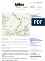 3.Bolzano - Bressanone in Mountain Bike _ Bicicletta - Mappa Percorso Ciclabile