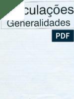 Articulações Generalidades - Luís Pinheiro