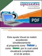 Manual de uso del Programa elearning class teacher
