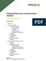 Curso Android Programacion Java Introduccion