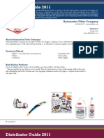 Fast Lube Distributors Guide - 2011