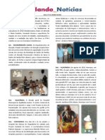 Cuidando Notícias nº 12 - Ano 1 | Projeto Cuidando do Futuro