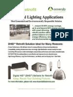 Retrofit Digital HID (DHID) Lighting Ballasts - Industrial Lighting Applications
