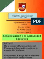 PARTICIPACIÓN DE XIII CONGRESO DE EDUC. ESPECIAL CHILE