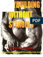 Bodybuilding Without Steroids Book PDF
