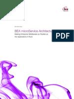 BEA Micro Service Architecture Wp