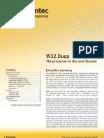 w32 Duqu the Precursor to the Next Stuxnet
