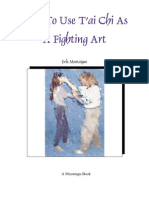 Tai Chi as a Fighting Art