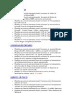 Lista de Tests Informatizados