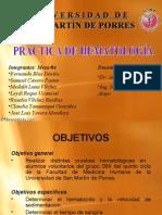 Expo HematologÍa Alumnos