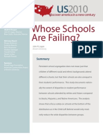Whose Schools Are Failing?
