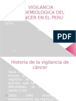Vigil an CIA de Cancer Peru