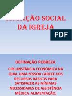 ATUAÇÃO SOCIAL DA IGREJA
