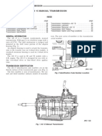 Jeep AX15 Service Manual Transmission