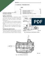 Jeep AX15 Service Manual Transmission