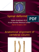 Spinal Deformities New