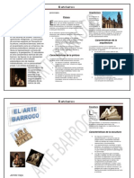 Características del arte barroco