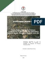 Caracterização e Avaliação dos Problemas  de Saneamento e a Qualidade de Vida Ambiental no Bairro do  Cangulo- Município de Duque de Caxias (RJ)