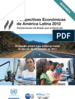 Perspectivas Económicas de América Latina 2012