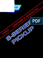 1995 Chevrolet s10 Owners Manual