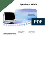 Manual Televisor Synmaster 940MW