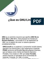 Que Es GNUlinux