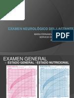 EXAMEN NEUROLÓGICO DEL LACTANTE
